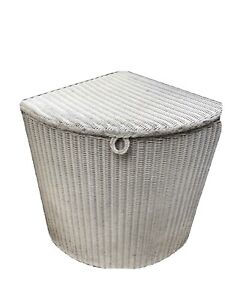 Vintage Lloyd Loom Lusty Corner Laundry Basket