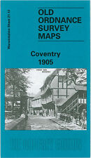 Old map COVENTRY Ordnance Survey 1905