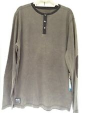 NEW RIP CURL RAINED OUT THERMAL Charcoal KNIT PULLOVER SWEATSHIRT Large YY124
