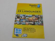 Rosetta Stone Learn a language For 12 months on iOs / Android / Pc and Mac