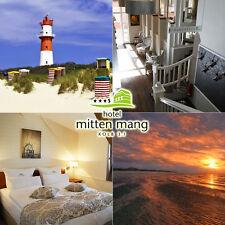 Nordsee Insel Langeoog 3Tage 2P inkl Frühsück im 3* Superior Hotel Mitten Mang