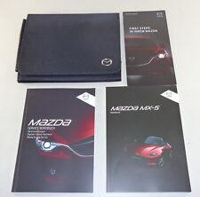 Manual de Instrucciones + Servicio Mazda MX-5 Tipo ND Roadster Von 2015