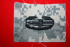 US ARMY COMBAT ACTION BADGE CAB ACU AFGHANISTAN CLOTH PATCH AIRSOFT PAINTBALL