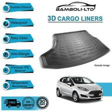 Fit for FORD FIESTA 2008-2017, Rear Liner Rubber 3D Cargo Trunk Mat