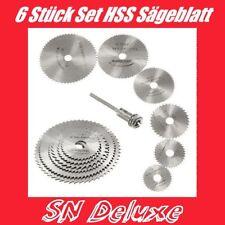 6x Set HSS Säge Sägeblatt Sägeblätter Trennscheibe  für Dremel Proxxon Multitool