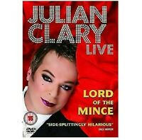 SEALED NEW DVD  JULIAN CLARY LIVE - lord of the mince -  sealed  dvd