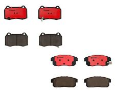 Front and Rear Brembo Brake Pads Set Kit For Nissan Sentra SE-R Spec V 2004-2005
