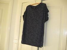 Ladies Top Size Small Bust 106 cm  Colour Indigo Design Cotton On Polyester