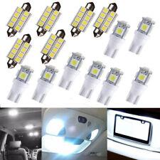 14X White LED Bulbs Interior Light Package Kit For 2002-2010 Dodge Ram 1500 2500