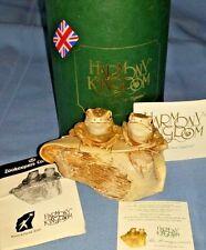 Harmony Kingdom~Rw04Fr~The Honeymooners~Signed~Mib~R are~ Made in Uk~Box Figurine