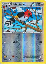 x4 Fletchinder - 95/114 - Uncommon - Reverse Holo Pokemon XY Steam Siege M/NM En