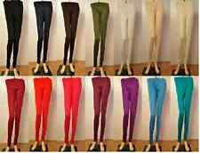 5 pc Indian Fashion Cotton Stretchable Leggings Yoga Kurta Top Pants Comfortable