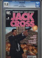 Jack Cross #1 CGC 9.8 (2005) Warren Ellis Gary Erskine Highest Grade Only 4 @9.8