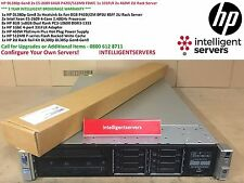 HP DL380p Gen8 2x E5-2609 64GB P420i/512MB FBWC 1x 331FLR 2x 460W 2U Rack Server