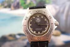 Beautiful Classic Mens/Ladies Tag Heuer SS Mid-sized 37mm Quartz Watch