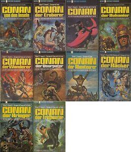 10x CONAN -Krieger,Wanderer,Freibeuter,Usurpator,Rächer,Bukanier,Eroberer,Inseln