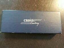 Cross Century Sterling Silver Ballpoint Pen - Made In USA & BOX