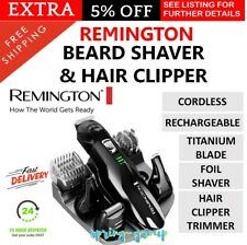 REMINGTON Cordless Beard Trimmer Shaver Mens Hair Clipper Rechargeable Electric