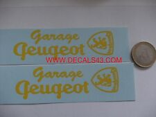 decals decalcomanie pour  GARAGE PEUGEOT 203 D3A  1/18