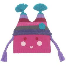nwt TCP Childrens Place HAPPY FACE Pippi Winter HAT Beanie Rosy Pink 3 4 3T 4T
