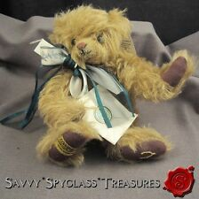"""Vintage 9"""" Merrythought Bear Making Wishes Come True Wishbone Long Mohair"""