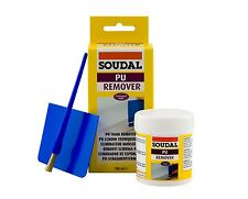SOUDAL PU FOAM REMOVER 100ML REMOVE CURED FOAM EATER CLEANER PVC WINDOW ODOURLES