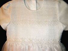 First Communion Dress - Hand Smocked - Camila _ Size 8_Free Shipping