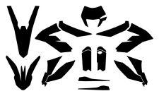 KTM Freeride 250 350 2012 13 14 15 16 17 18 2019 Vector Graphic Template 1:1 EPS
