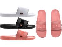 Womens Lacoste Slides Lacoste Fraisier 118 Sandals 735CAW0090 NEW