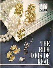 1986 Vintage Antique AVON Sales Catalog Book Brochure Campaign 20