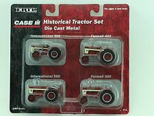 1/64 ERTL CASE IH HISTORICAL TRACTOR SET INTERNATIONAL 460/560, FARMALL 460/560