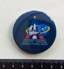 Discovery STS-96 SPACE PIN  Rominger Husband Payette Jernigan Ochoa Barry. Metal