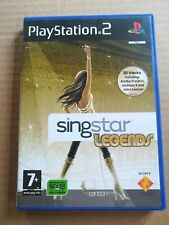 PLAY STATION 2-SINGSTAR LEGENDS EXCELLENT CONDITION
