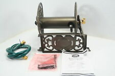 See Notes Good Gain Decorative Wall Mount Metal Cast Iron Steel Garden Hose Reel