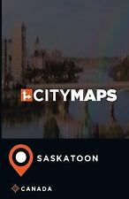 City Maps Saskatoon Canada by James McFee (2017, Paperback)