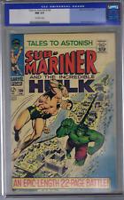 Tales to Astonish #100 Marvel 1968 CGC 9.4 (NEAR MINT) Old Label