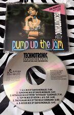 Technotronic - Pump Up The Jam The REMIXES Rare CD Single
