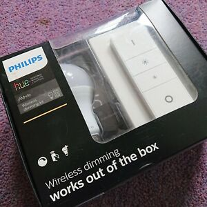 Philips Hue Wireless Dimming Kit - White E27 Bulb with Dimmer Switch
