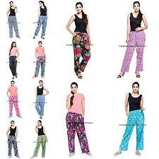 10 PCs Wholesale Lot Cotton Women Pants Indian Casual Yoga Harem Trouser Hippie