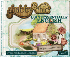 Debbi Moore - SHABBY CHIC QUINTESSENTIALLY ENGLISH CD-ROM (New sealed)