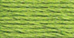 DMC Pearl Cotton Ball Size 8 87yd-Bright Chartreuse