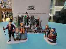 Dept 56 Dickens  - A Christmas Carol reading by Charles Dickens