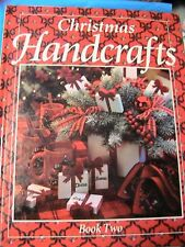 CHRISTMAS HANDCRAFTS~cloth doll~ornaments~crochet~cross stitch~stockings~clothes