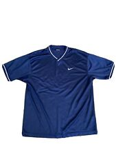 VTG Nike Mesh Jersey Shirt XL Blue/White