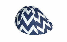 Brand New w Tags Oobi Toddler Unisex Navy Blue White Chevron Hat Cap One Size