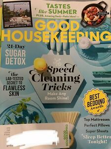 Good Housekeeping Magazine June 2021 Summer Recipes Speed Cleaning