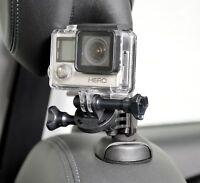 RICHTER KFZ Halter für GoPro Auto Kopfstützen Halterung Befestigung HR PRO GRIP