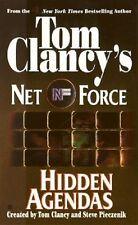 Hidden Agendas: Net Force #2 - Tom Clancy ~ PB GC  (Combine & save)