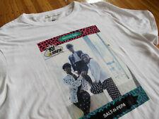 American Eagle x Yo MTV Raps x Salt-n-Pepa white t-shirt XL rap vtg 80s hip hop