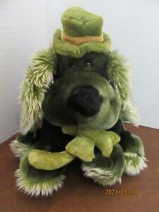 Dan Dee Collectors Choice Green St Patricks Puppy Dog Stuffed Plush Animal
